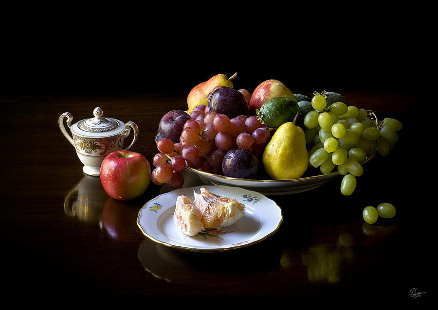 Still Life With Fruit Photograph by Endre Balogh