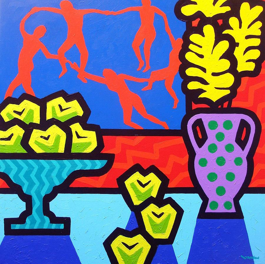 Modern Painting - Still Life With Matisse by John  Nolan