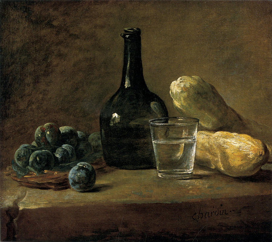 Chardin - Still Life with Plums