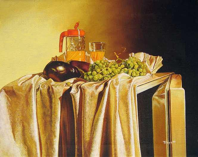 Still Life with Tang Painting by Robert Tracy