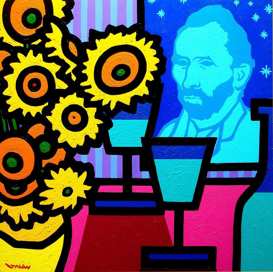 Vincent Van Gogh Painting - Still Life With Vincent by John  Nolan