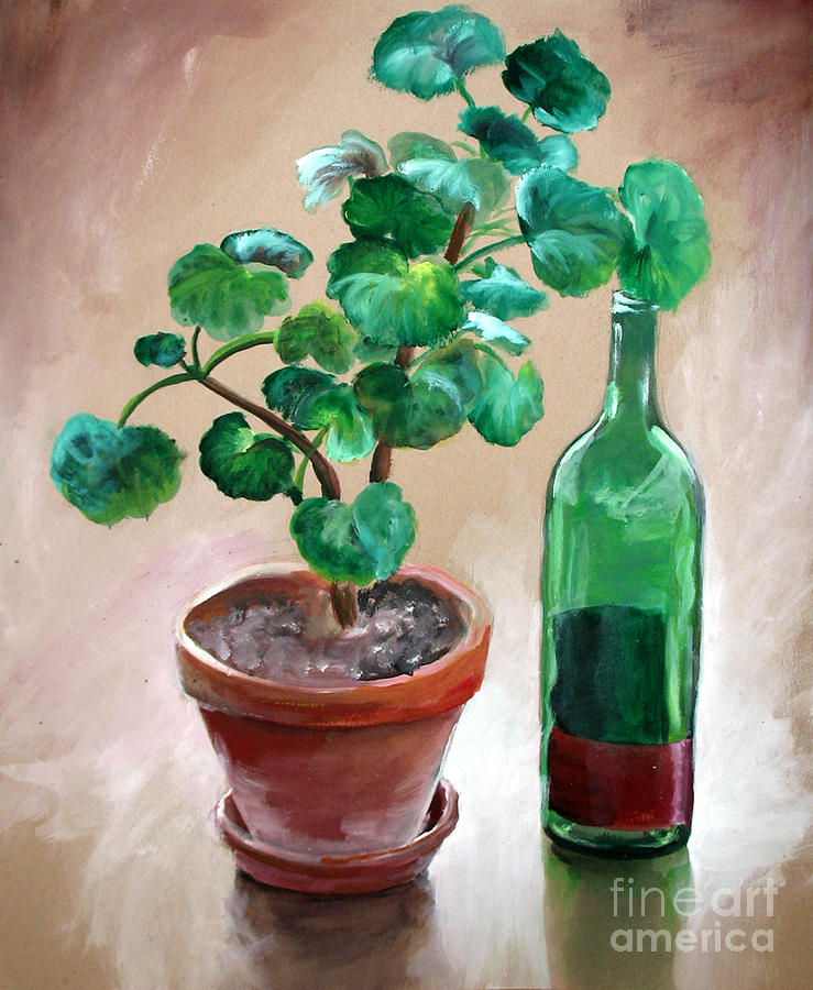 Still Life With Wine by Michelle Bien