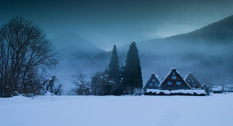 Winter Photograph - Still Of Evening by Aaron Bedell