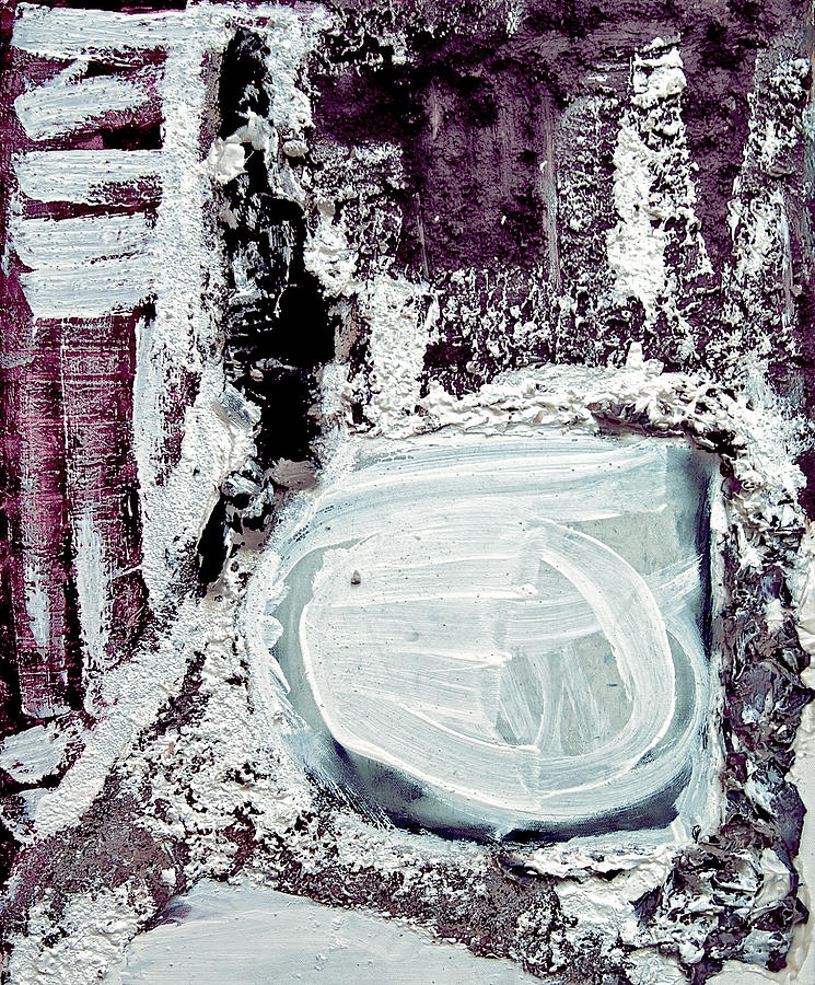 Abstract Mixed Media - Still Standing by Alexandra Jordankova
