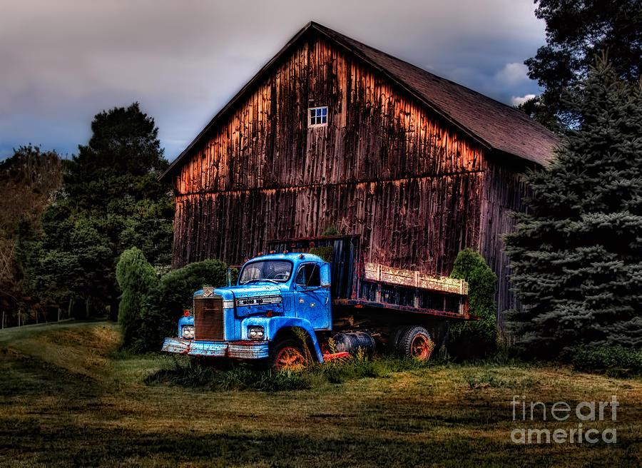 Truck Photograph - Still Truckin by Susan Candelario