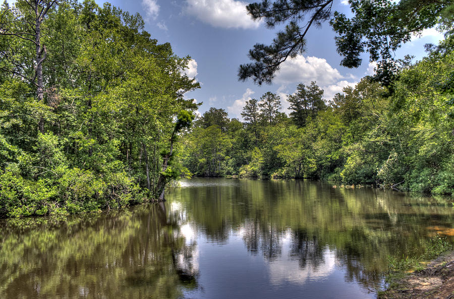 River Photograph - Still Waters by David Troxel