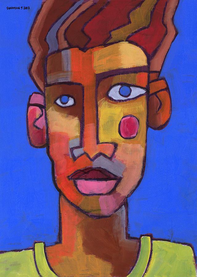 Portrait Painting - Still Waters by Douglas Simonson