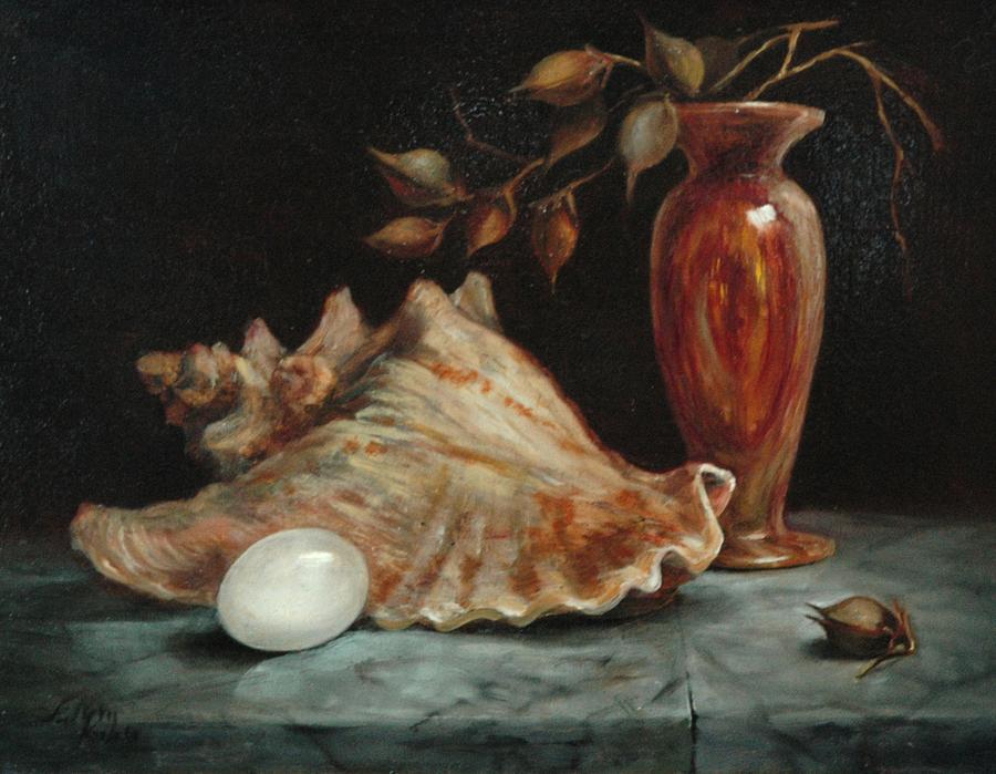Stilllife Painting by Jolyn Kuhn