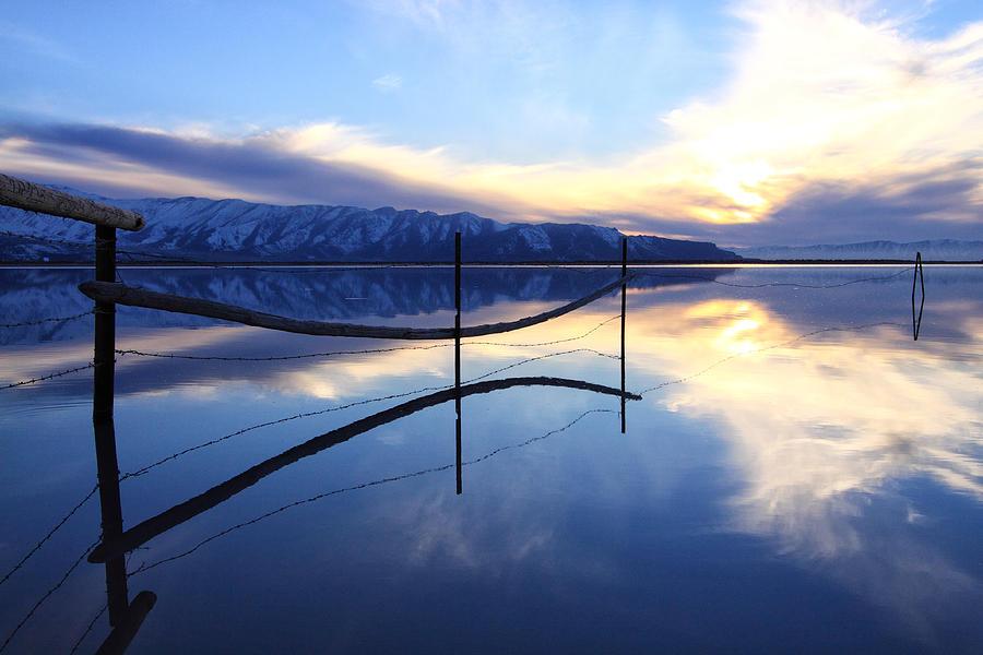 Great Salt Lake Photograph - Stillness by Darryl Wilkinson