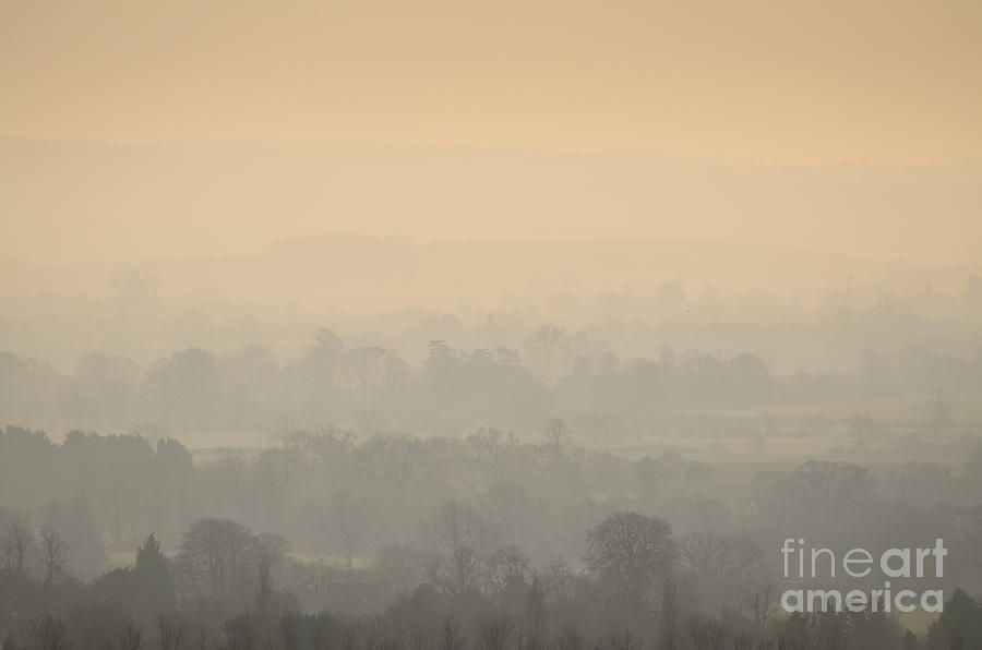 England Photograph - Stillness Over The Oxfordshire Countryside by OUAP Photography