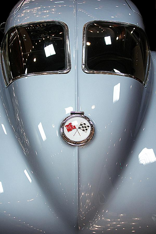 Corvette Photograph - 63 Sting Ray  by Aaron Berg