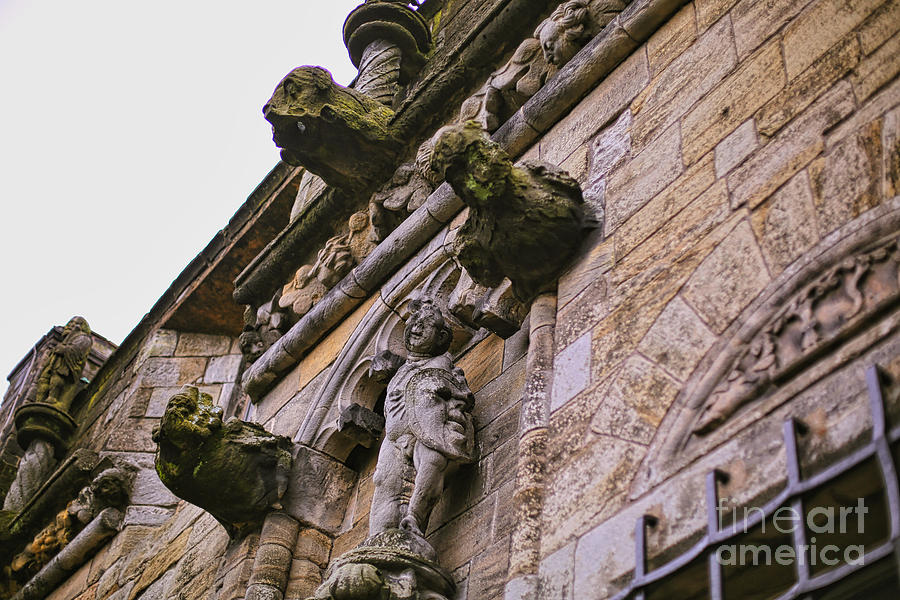 Castle Photograph - Stirling Castle Detail by Kate Purdy