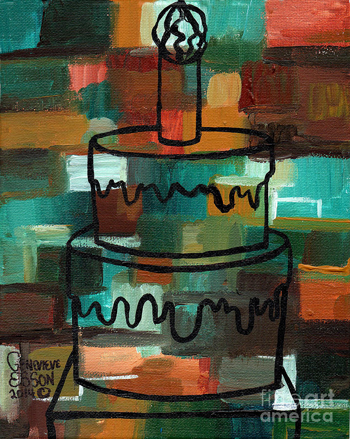 Abstract Art Birthday Images
