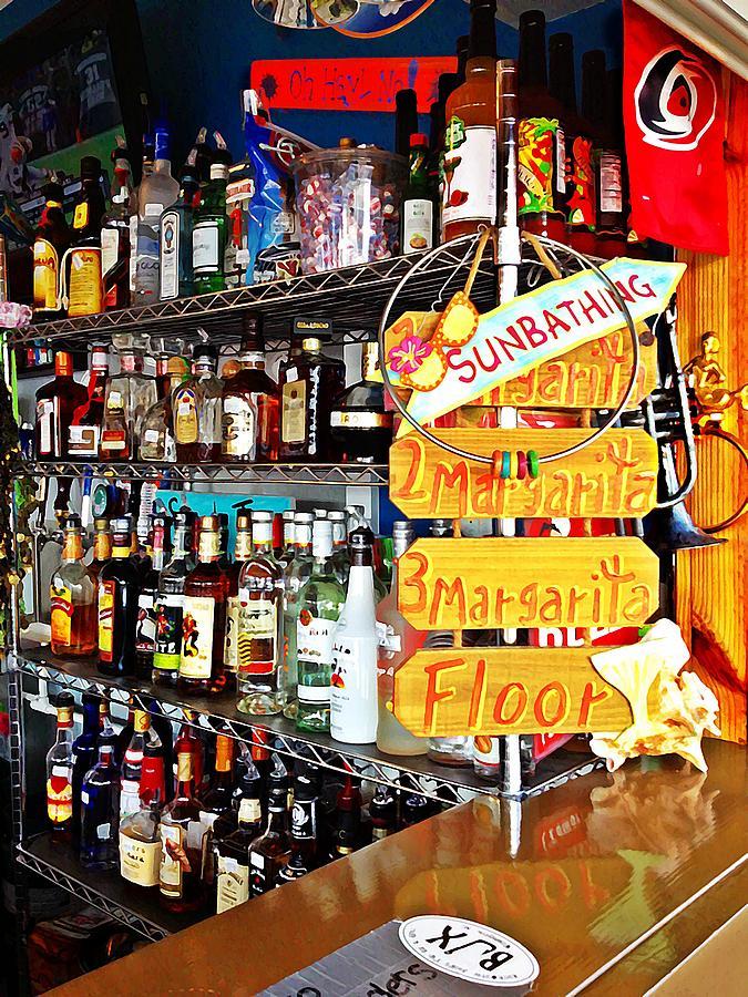 Alcohol Photograph - Stocked Bar At Jax by Joan Meyland