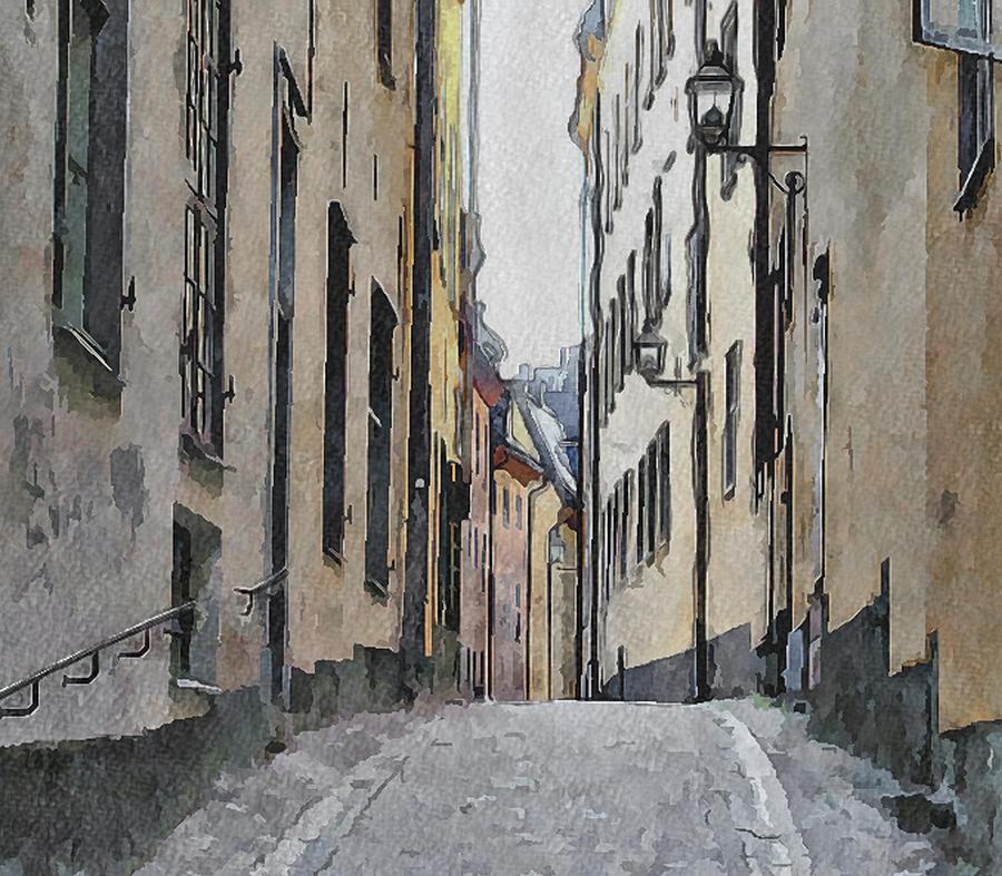 Stockholm Digital Art - Stockholm 13 by Yury Malkov