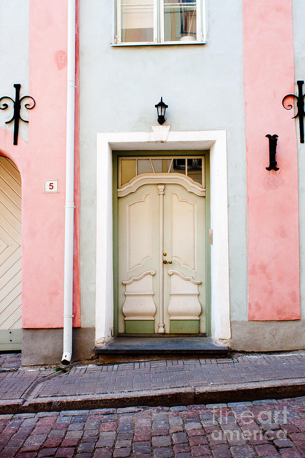 Europe Photograph - Stockholm Doorway by Thomas Marchessault