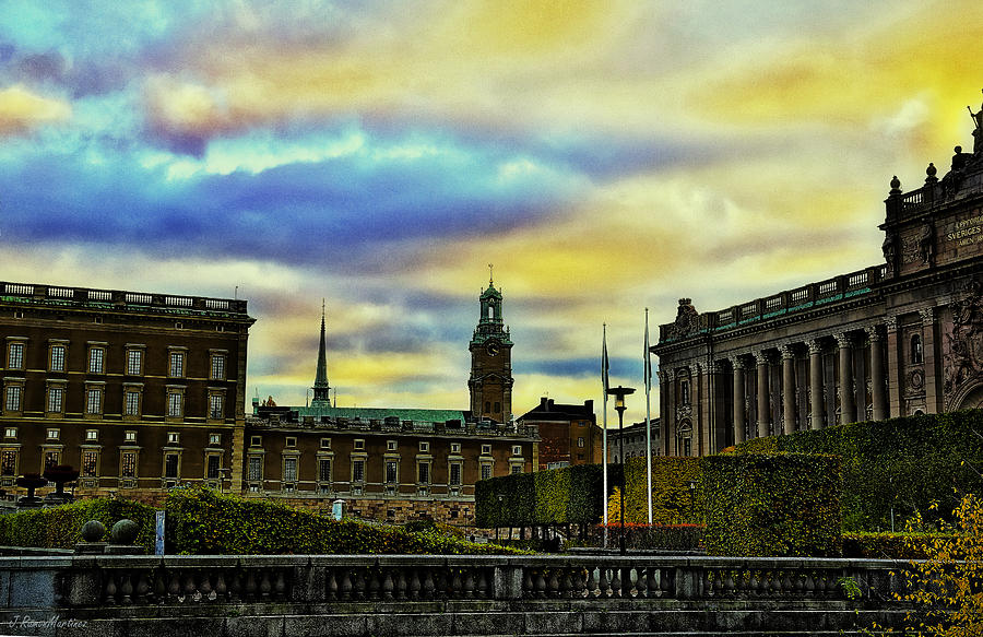 Cities Photograph - Stockholm II by Ramon Martinez