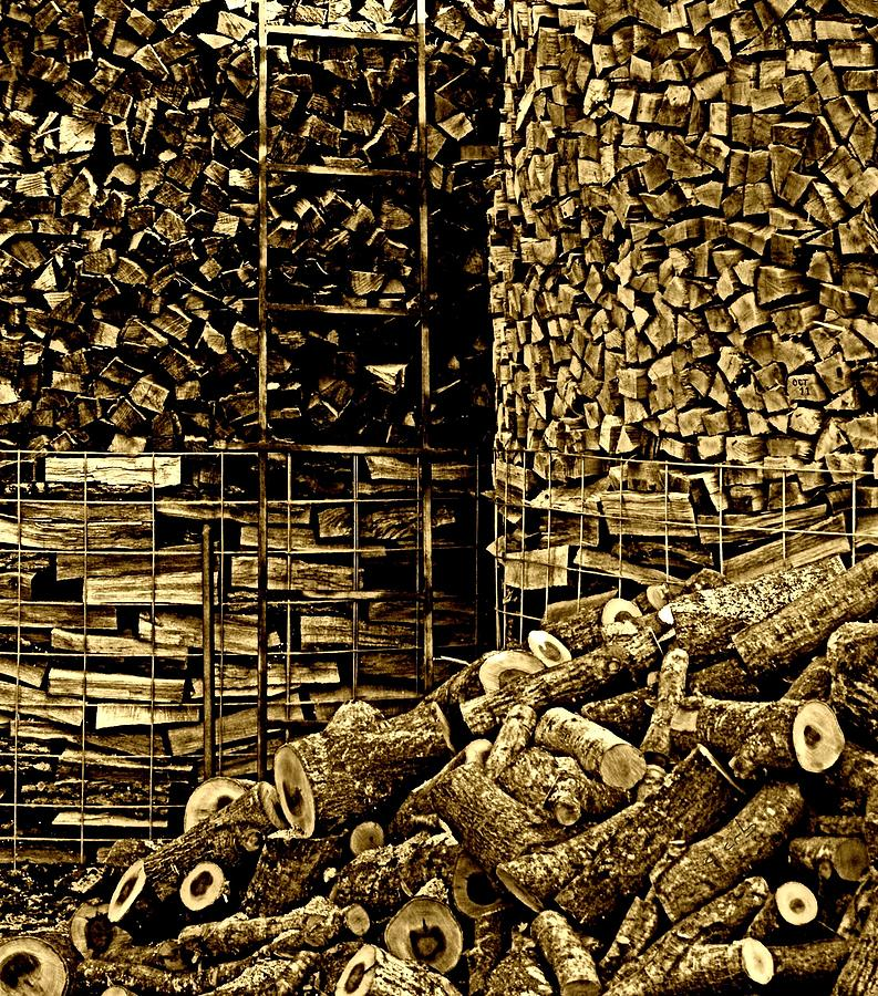 Nature Photograph - Stockpile  by Chris Berry