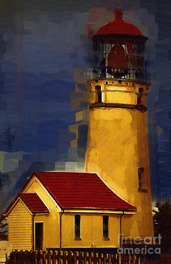 Oil Digital Art - Stoic by Kirt Tisdale