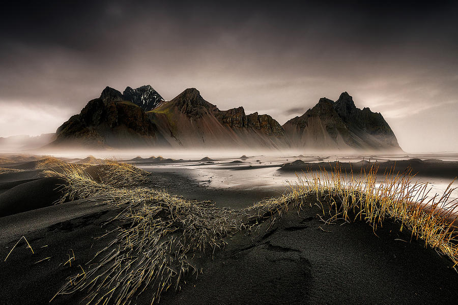 Sea Photograph - Stokksnes by David Mart?n Cast?n