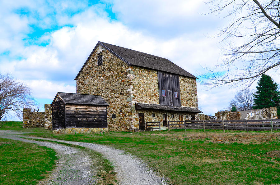 Stone Barn In Chester County Pennsylvania Photograph By