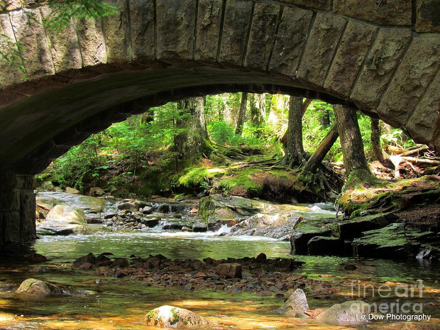Stone Bridge Photograph - Stone Bridge II by Elizabeth Dow