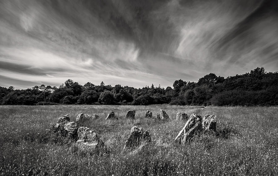 Ireland Photograph - Stone Circle Ireland by Pierre Leclerc Photography