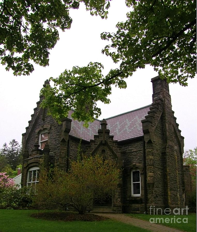 Architecture Photography Photograph - Stone Home  by John Malone