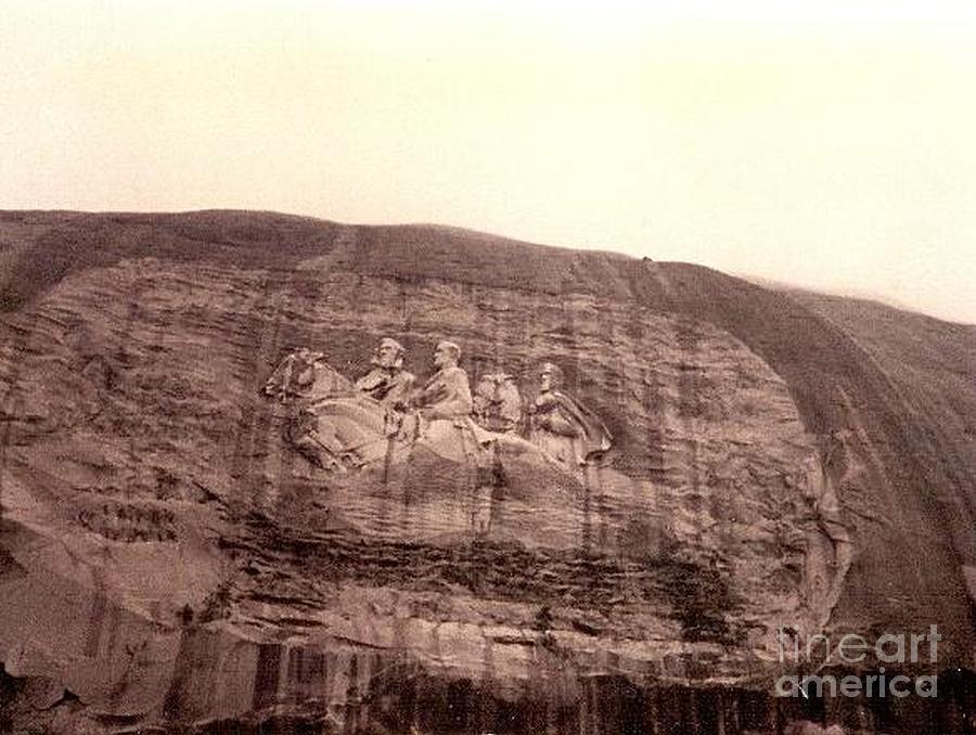 Georgia Prints Photograph - Stone Mountain by R A W M