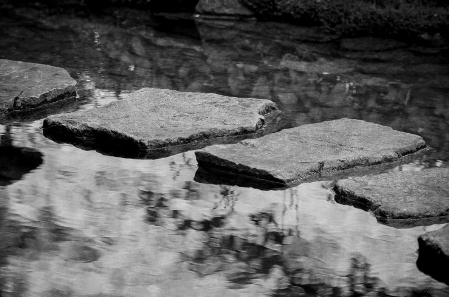 Path Photograph - Stone Path I by Maria Angelica Maira