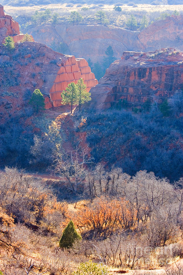 Stone Quarry At Red Rocks Open Space Photograph