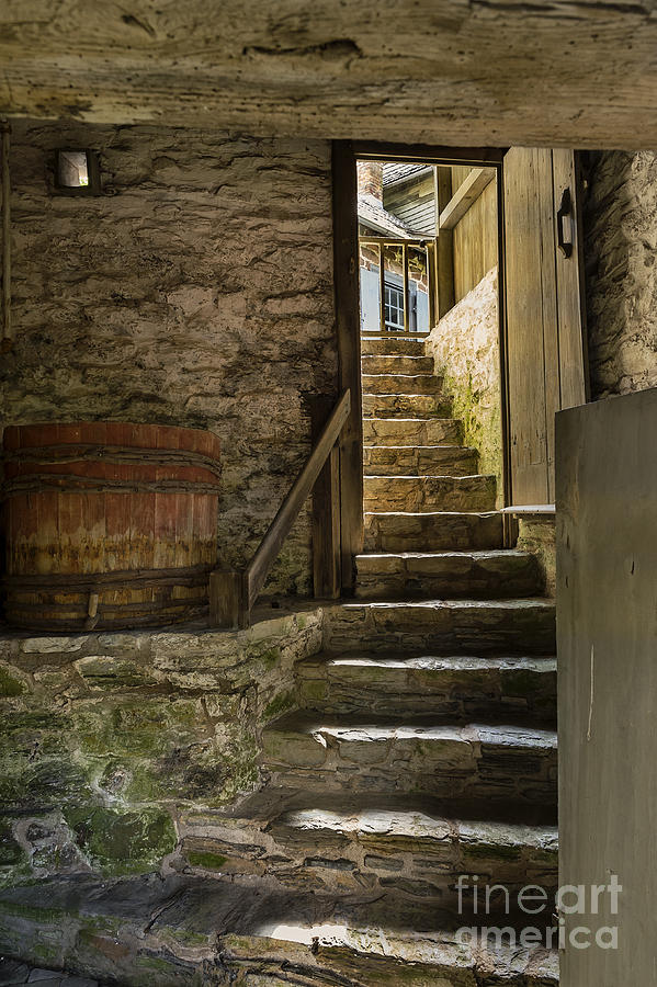 Learning Photograph - Stone Stairs by John Greim