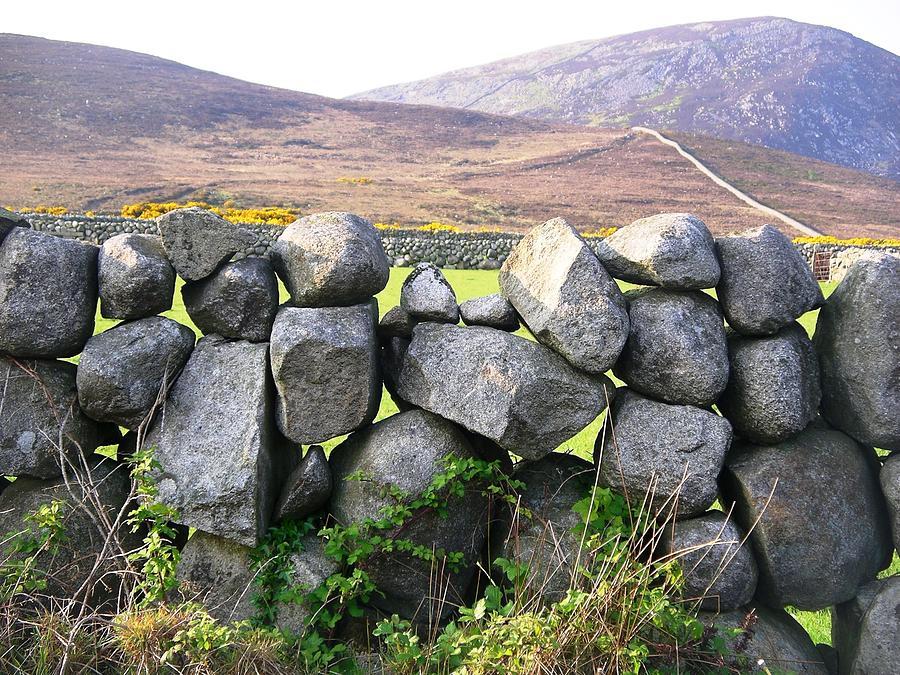Stone Wall by Nigel Cameron