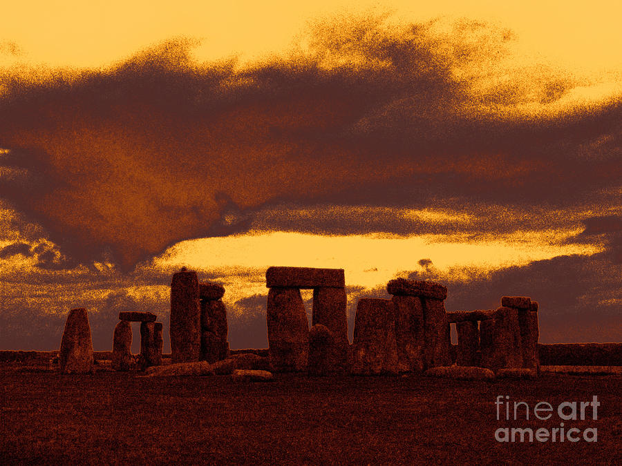 Stonehenge Photograph - Stonehenge 6 by Tom Conway