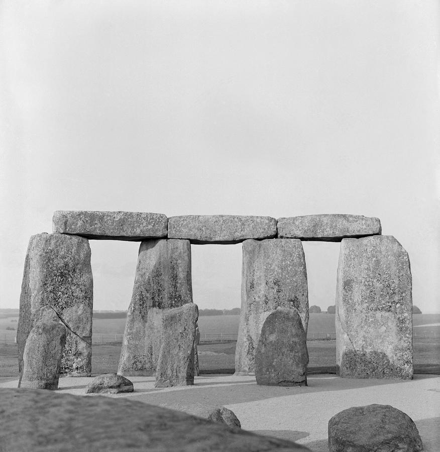 Stone Photograph - Stonehenge by Anonymous