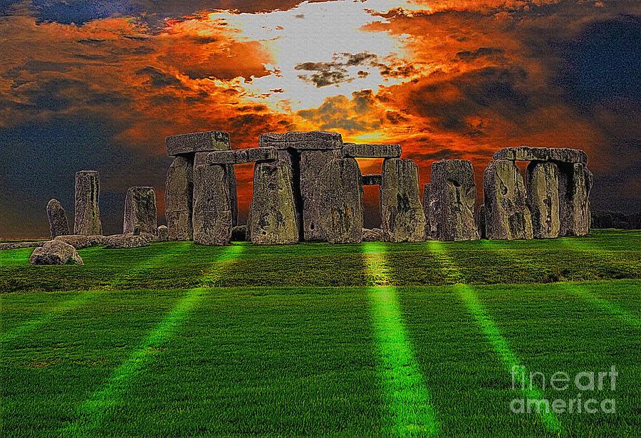 Solstice Photograph - Stonehenge At Solstice by Skye Ryan-Evans