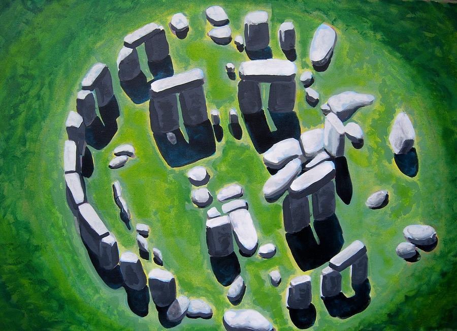 Stonehenge Painting - Stonehenge by Mitchell McClenney