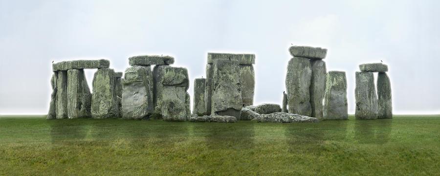 Stonehenge Panoramic - England Photograph