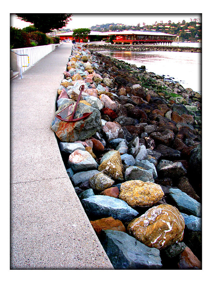 Stones Photograph - Stones At The Bay... by Lisa Alex