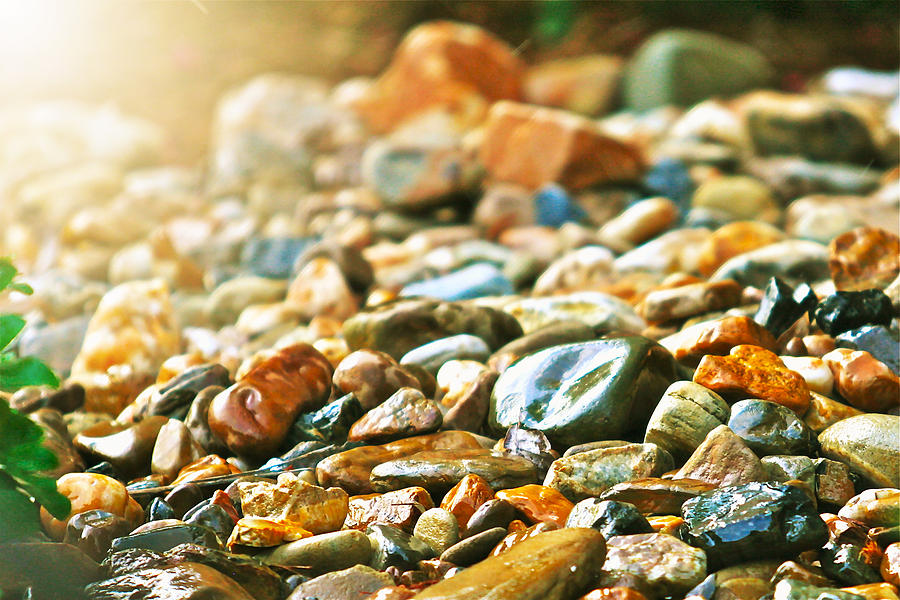 Stones Photograph - Stones by Debbie Sikes