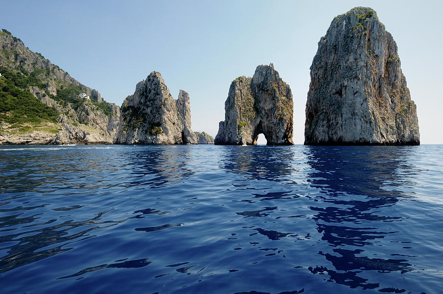 Stones Of Capri Island From Italy Photograph by Aureliangogonea