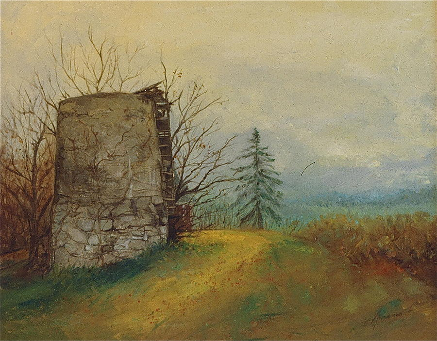 Landscape Painting - Stoney Silence by Sherri Anderson