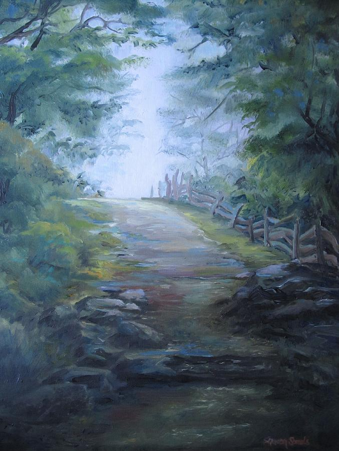 Stony Path by Sharon Sorrels