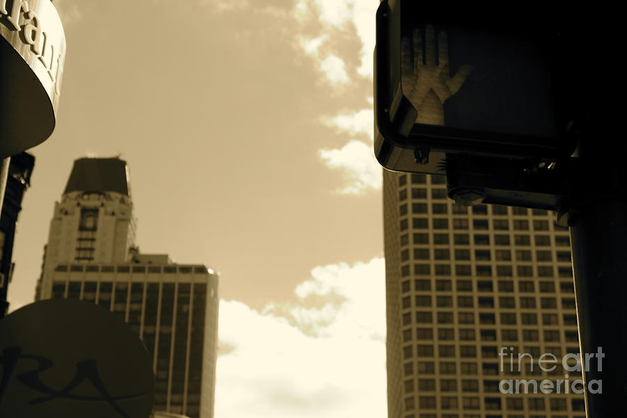 Chicago Photograph - Stop by Ashley Ordines