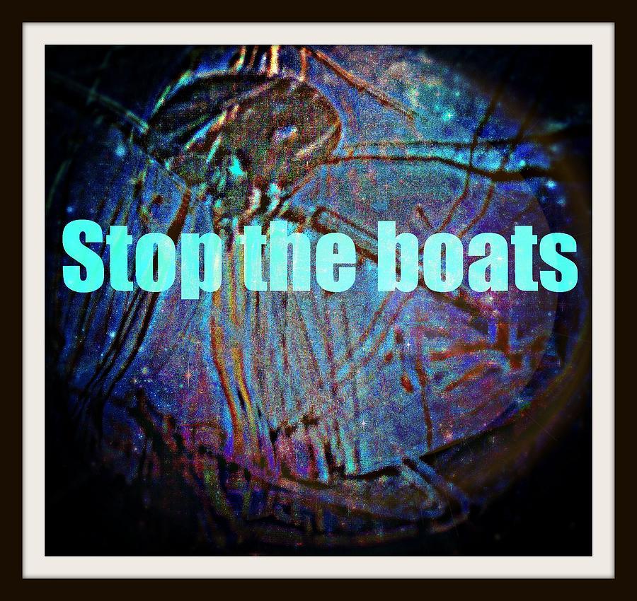 Australia Photograph - Stop The Boats by Meiers Daniel