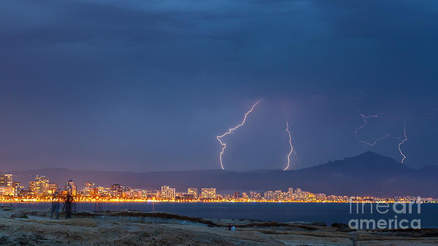 Storm 3 Photograph by Eugenio Moya