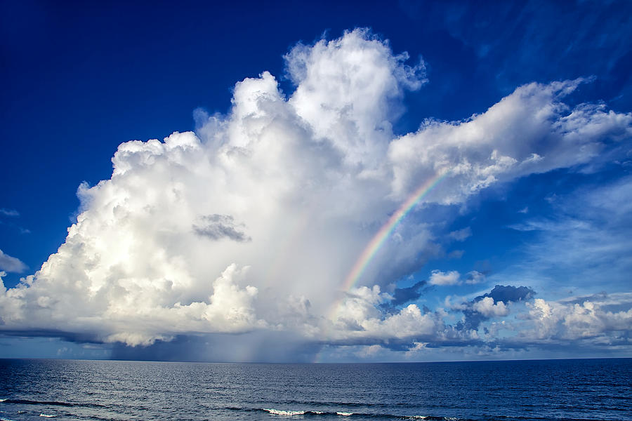 Storm and Rainbow by Mark Steven Houser