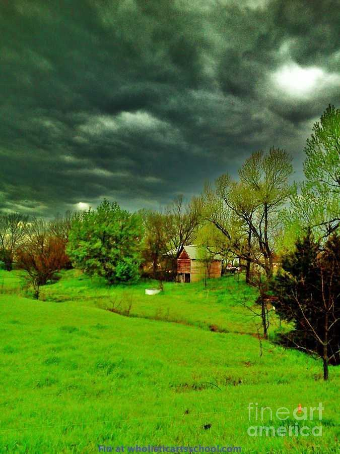 Storm Anticipation Photo Photograph - Storm Anticipation by PainterArtist FIN