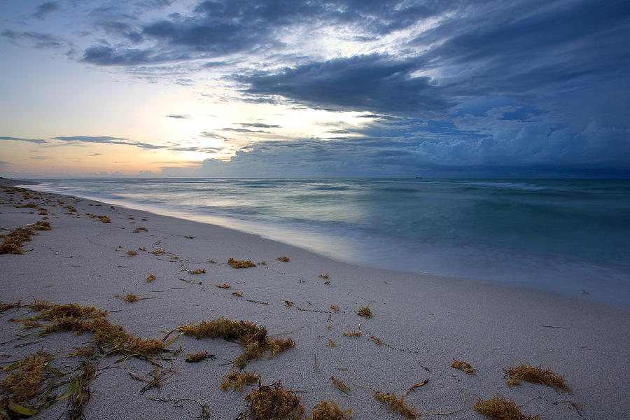 Storm Photograph - Storm Approaching Miami by Matt Tilghman