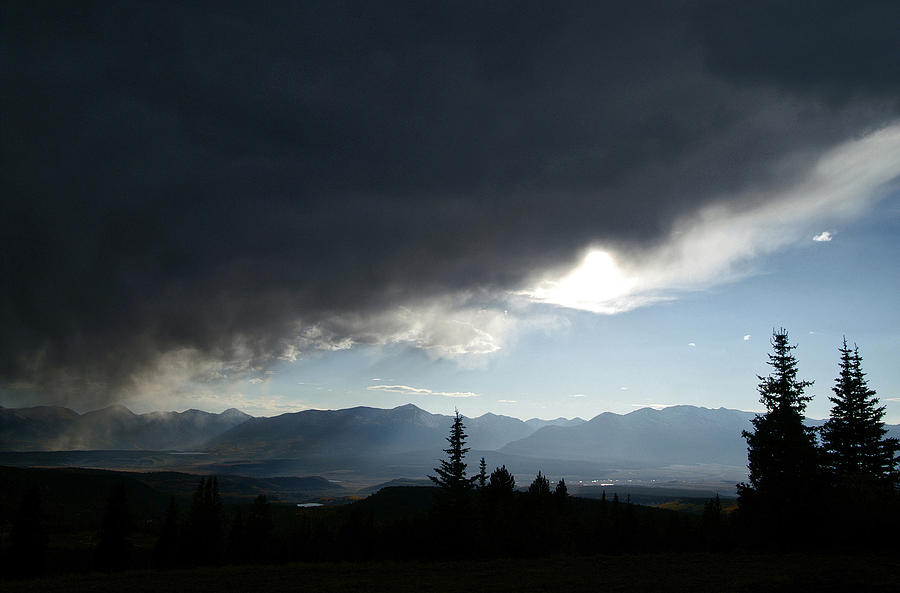 Rocky Mountains Photograph - Storm Blows Over by Jeremy Rhoades